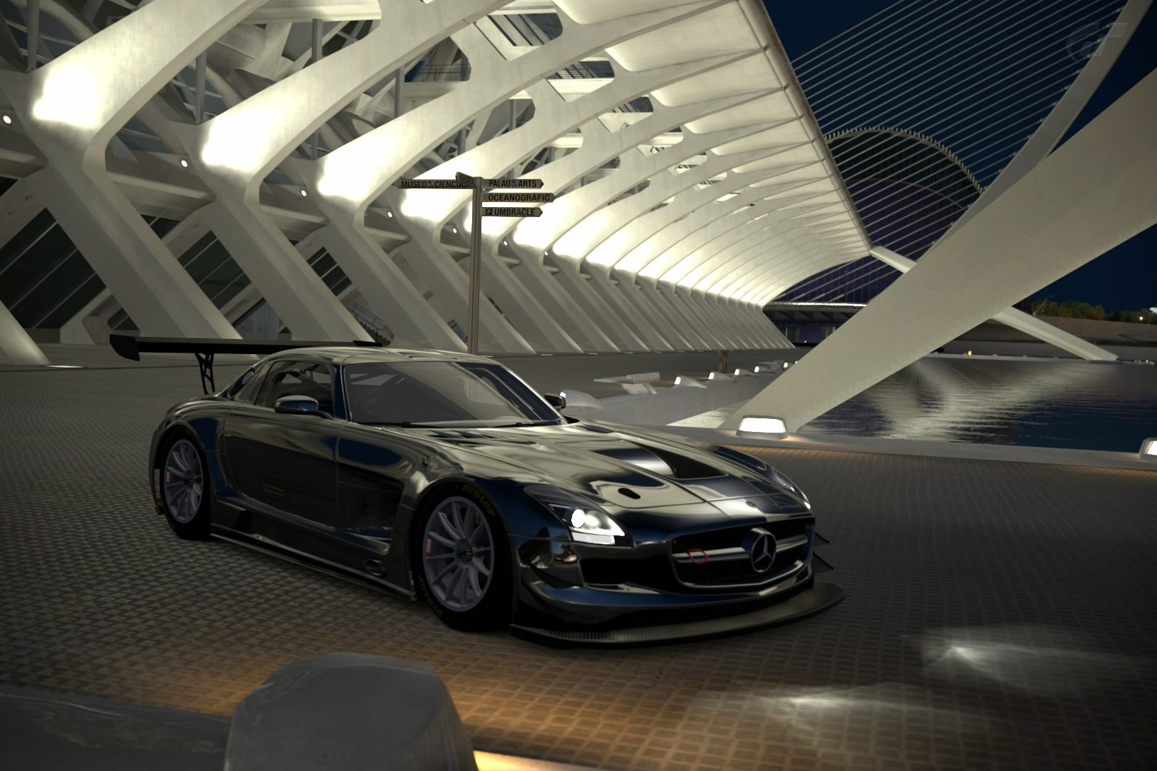 SLS AMG GT3 City of Arts and Sciences - Night.jpg