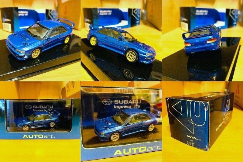 Subaru IMPREZA Coupe 22B-AutoArt 1.43 Replica 1.jpg