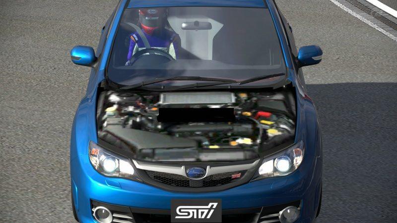 Subaru IMPREZA WRX STI '07 Engine Under Removable Hood Code 00340004 Glitch (2).jpg