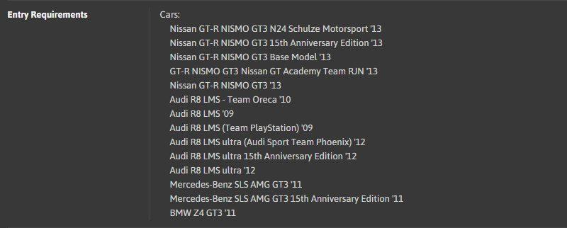 TT#45 - 630PP GT3 Racing Car Super Lap @ Suzuka Circuit 2014 - ER Car List.jpg