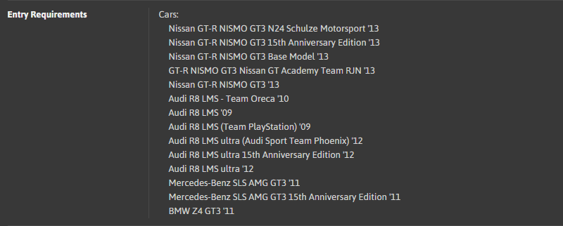 TT#57 - 630PP GT3 Racing Car Super Lap @ Suzuka Circuit 2014 [ER - Car List].png