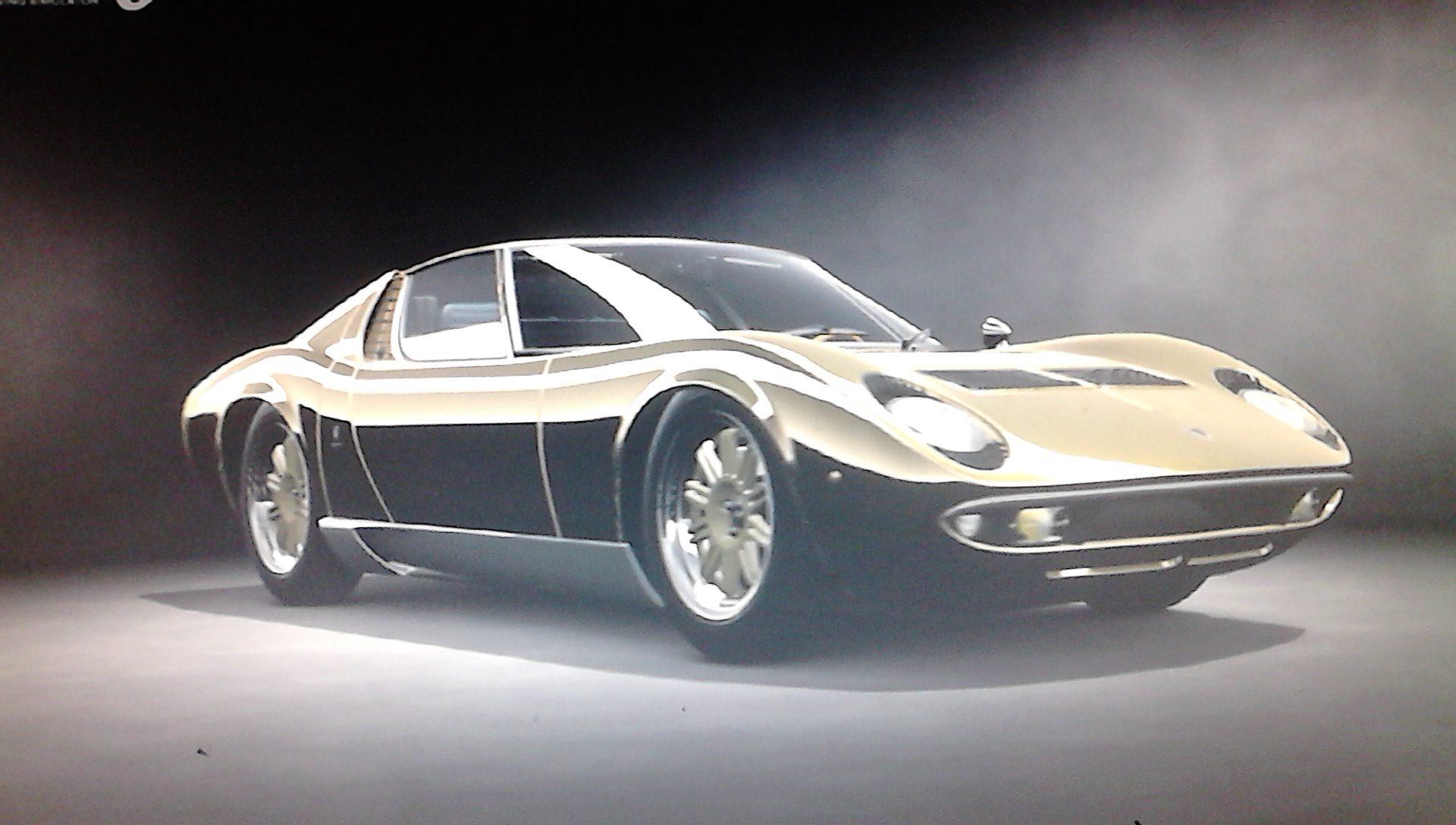 1966 Lamborghini Miura P400 Bertone Prototype Cn 0706