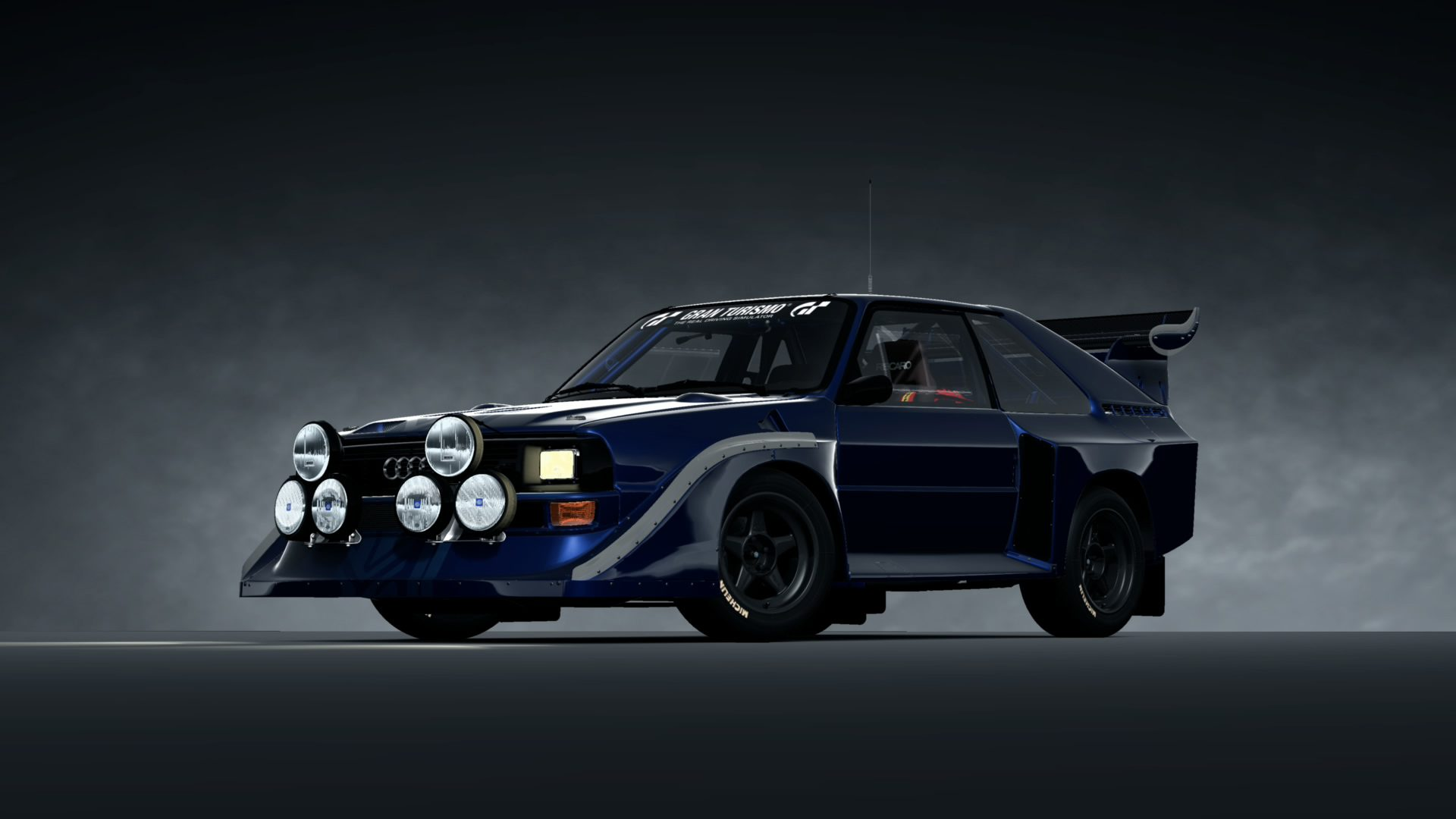Audi Quattro S1 Rally Car 15th Anniv 86