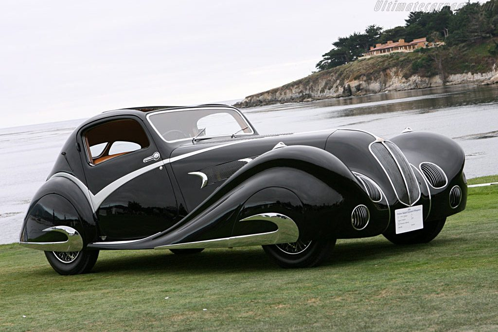 Delahaye 135 Competition Court Figoni And Falaschi Coupe 23429