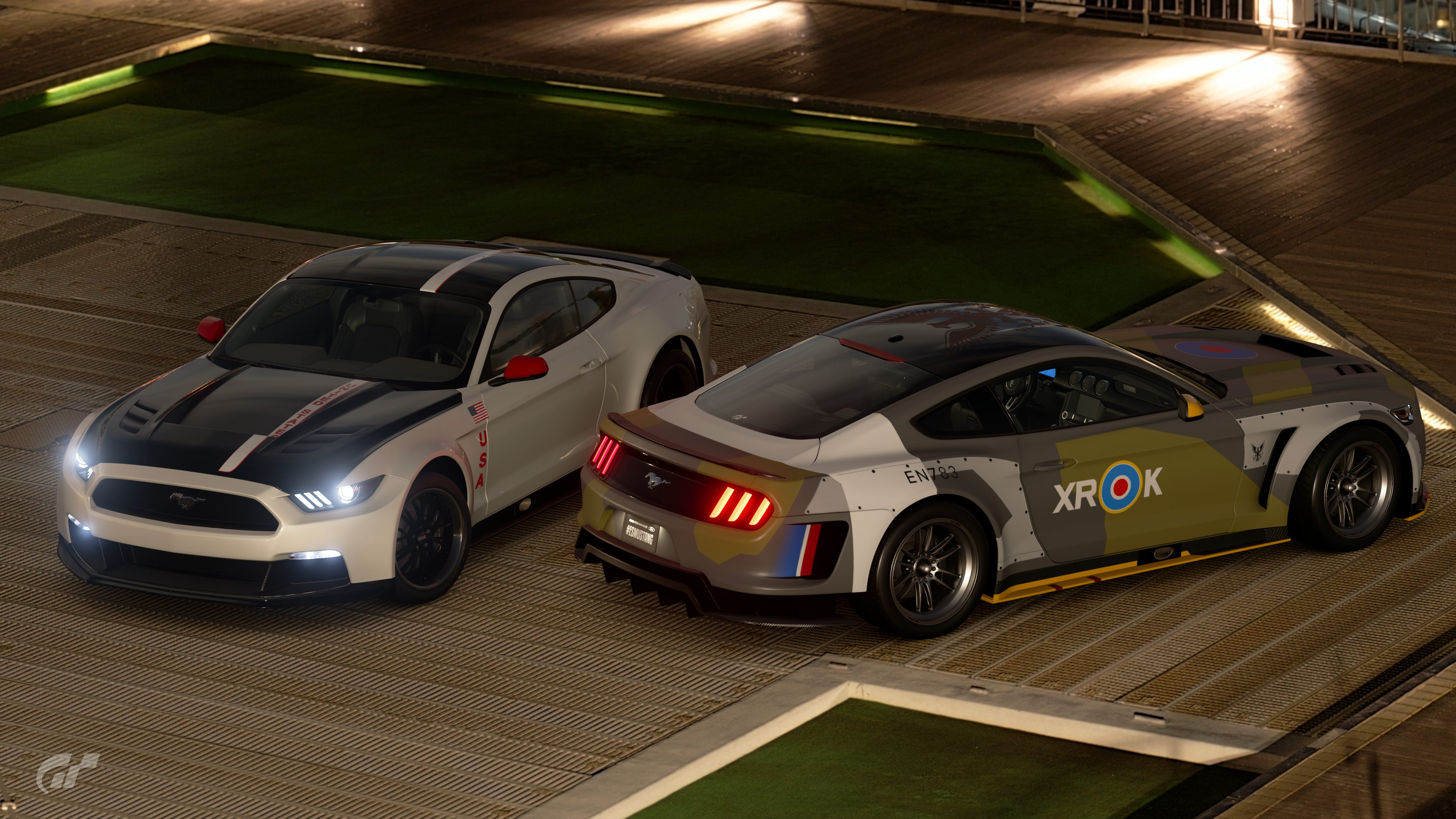 Eagle Squadron Apollo Edition Ford Mustang Gr3 Roadcars