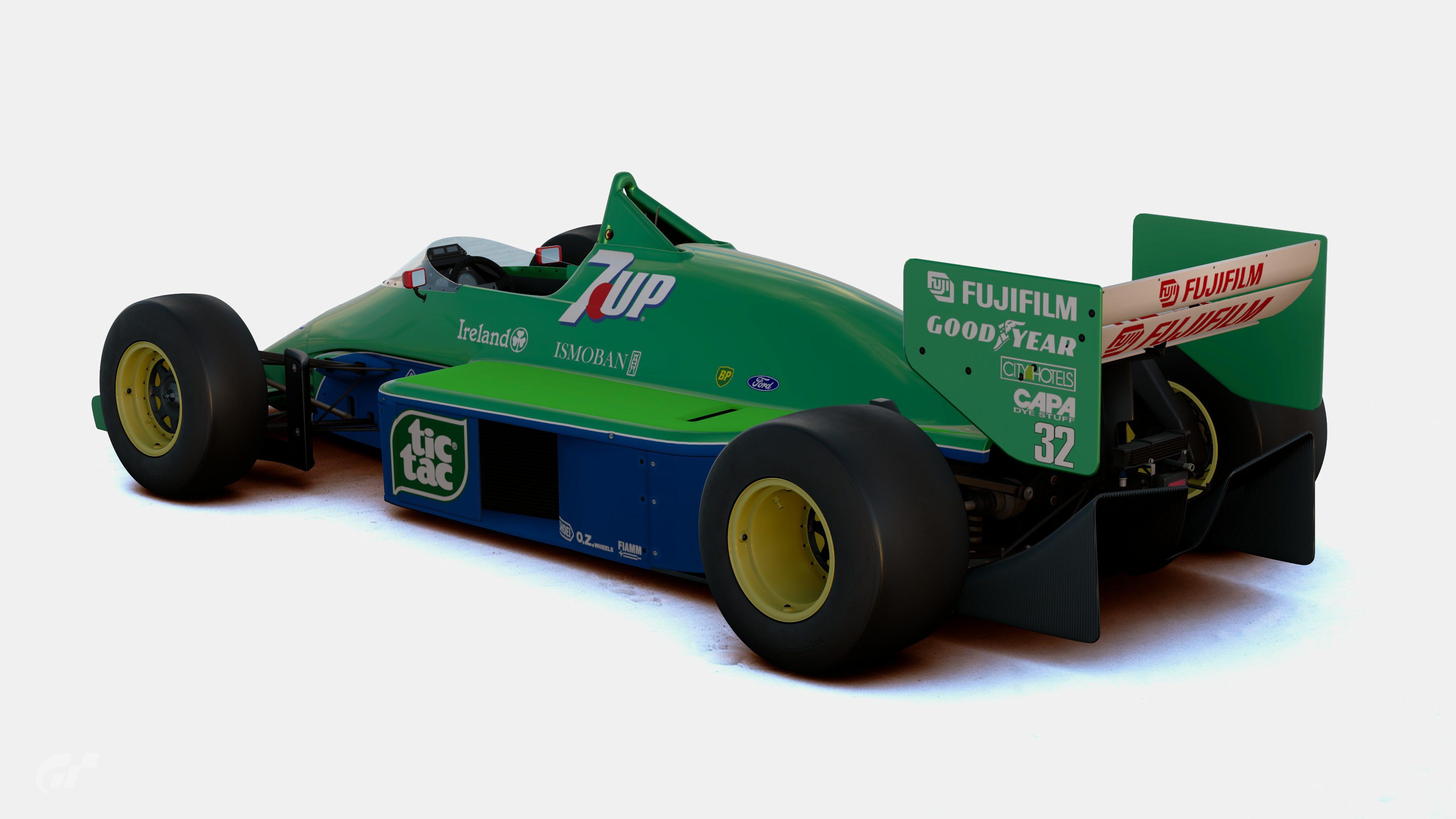 najtańszy tanie jak barszcz Nowe Produkty F1 F1500T-A Jordan 191 Michael Schumacher 1991 (2)
