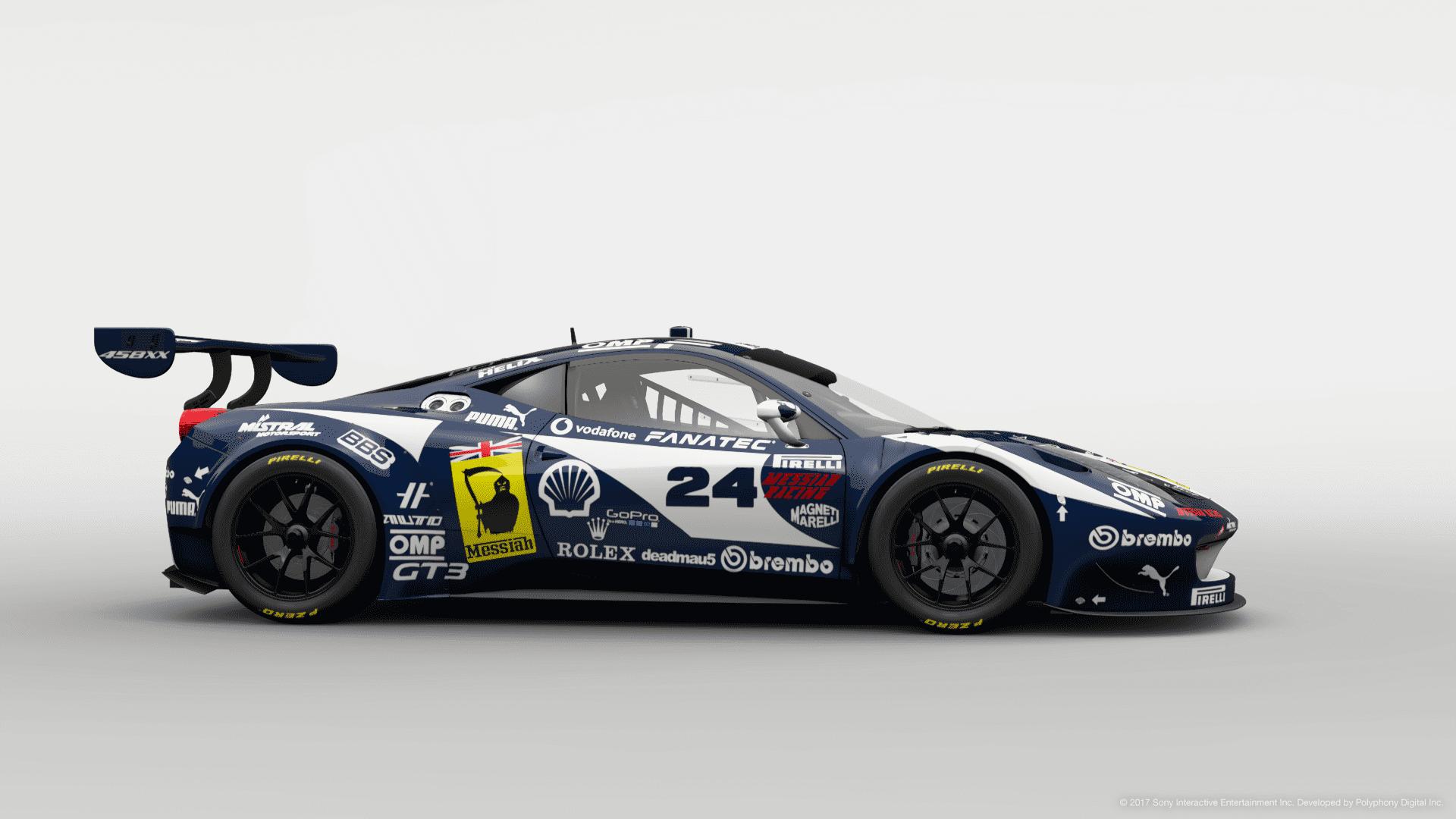 Ferrari 458 Italia Gt3 Messiah Racing 24 3