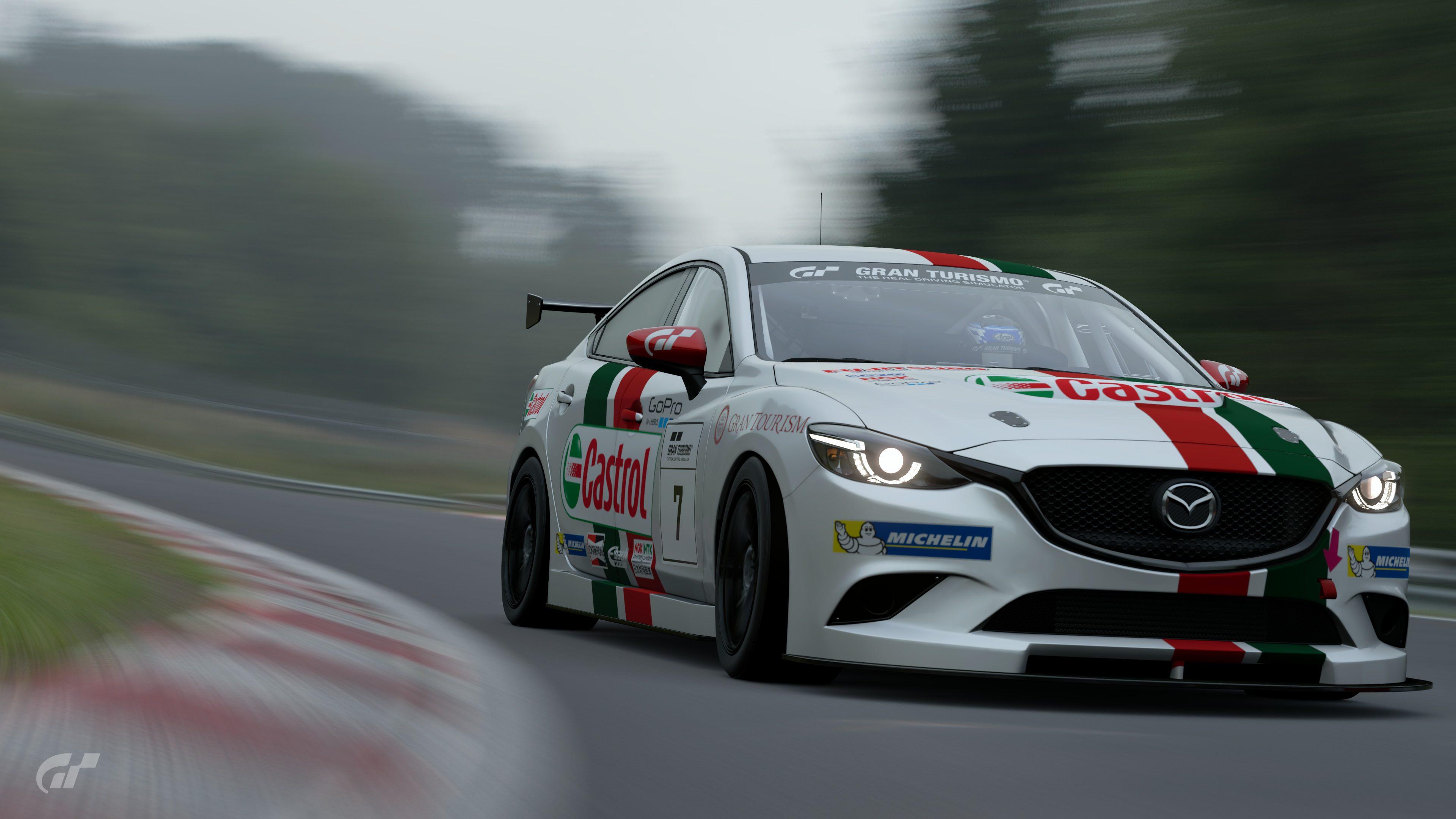 Gran Turismo Sport Limited Time Demo: Castrol racing Atenza