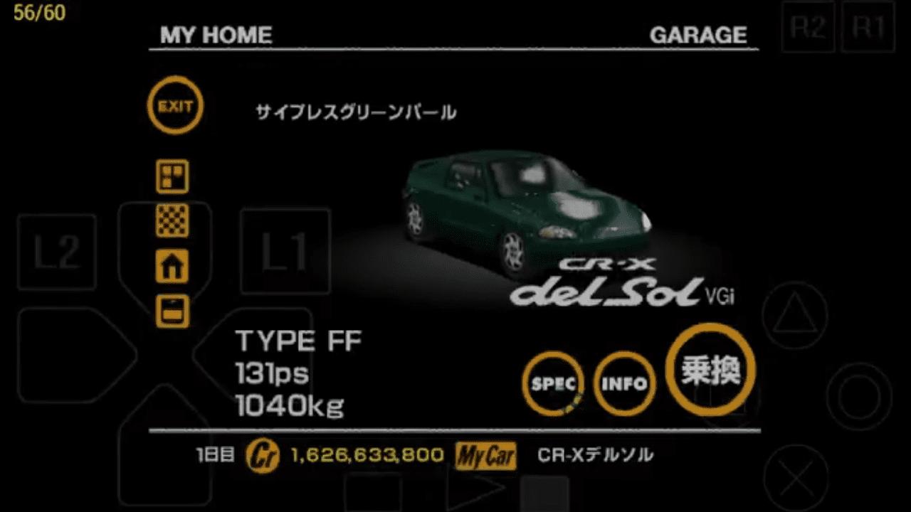 Gran Turismo 1 secret cars