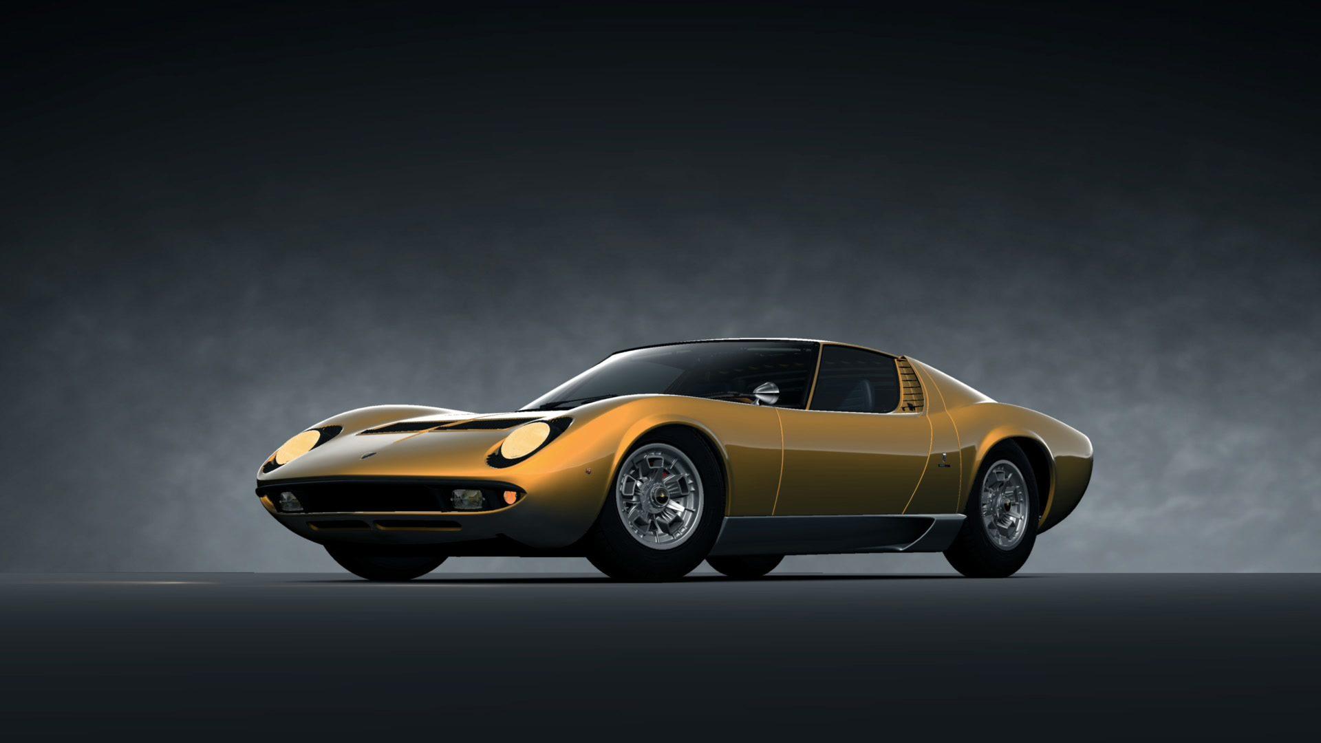 Lamborghini Miura Bertone Prototype 67