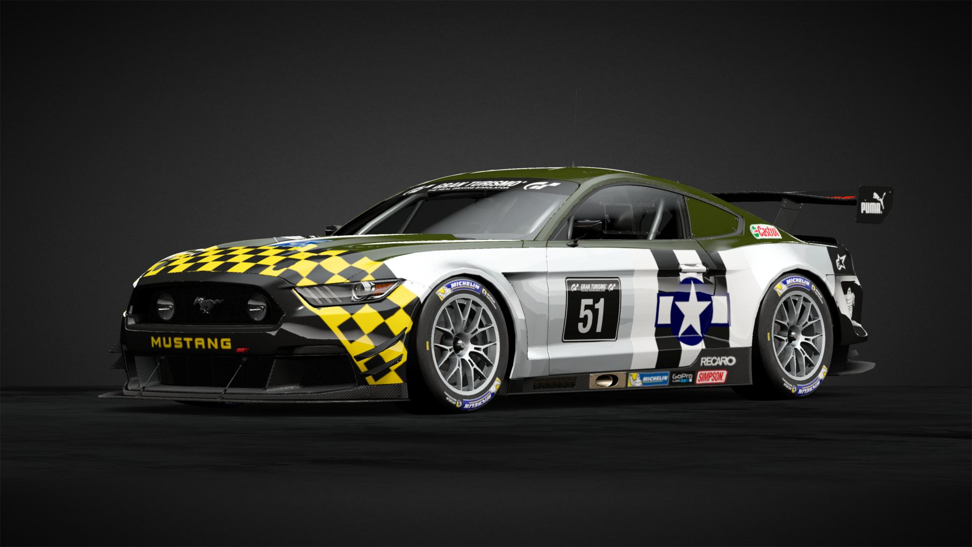 P 51 Ford Mustang