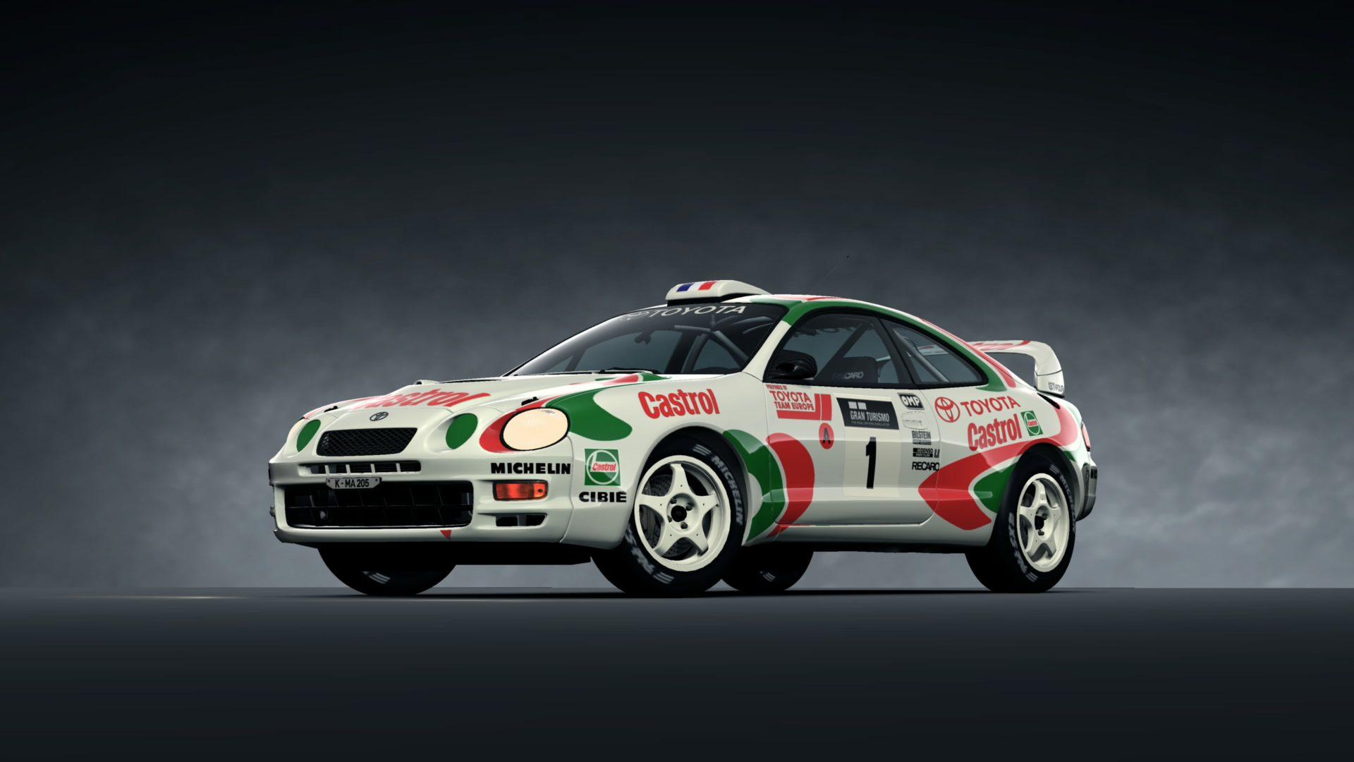 CELICA GT-FOUR Rally Car (ST205) \'95