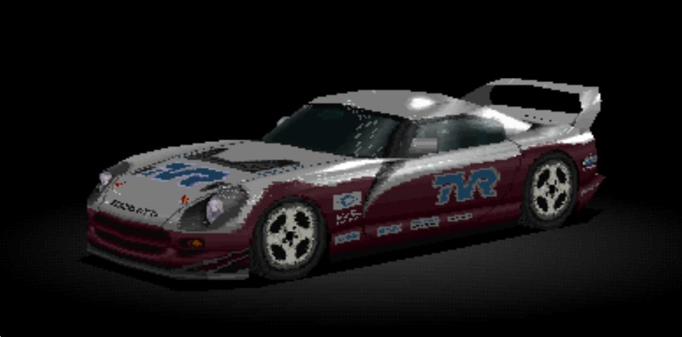 """Gran turismo 1 tvr cerbera lm edition (red)   a """"lm by gt""""…   flickr."""