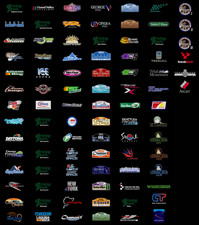 Gran Turismo Sport Track List >> Track Logos Thread