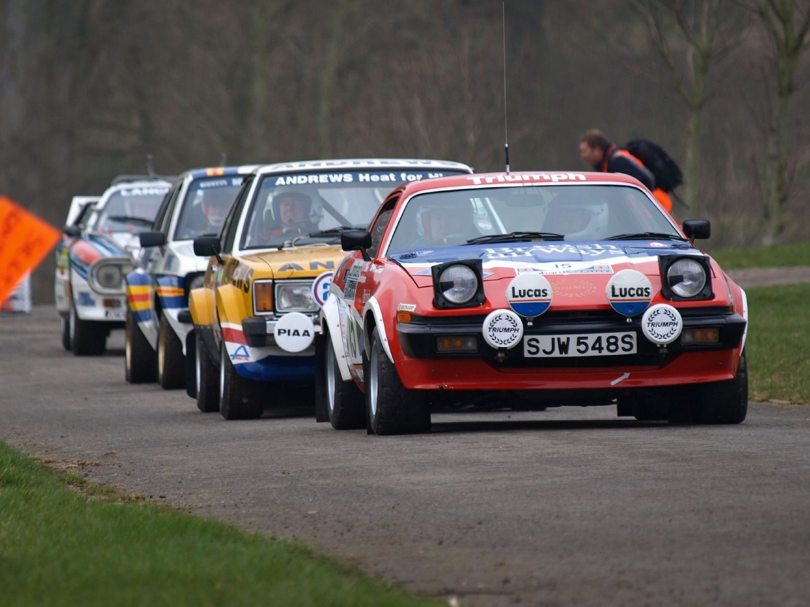 Triumph Tr7 V8 Rally Car 1976