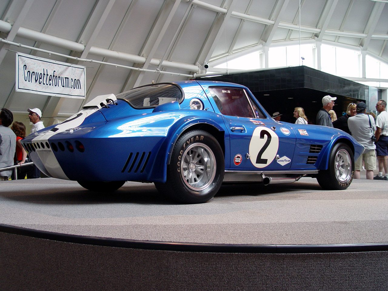 Chevrolet Corvette (C2) Grand Sport Race Car 1963