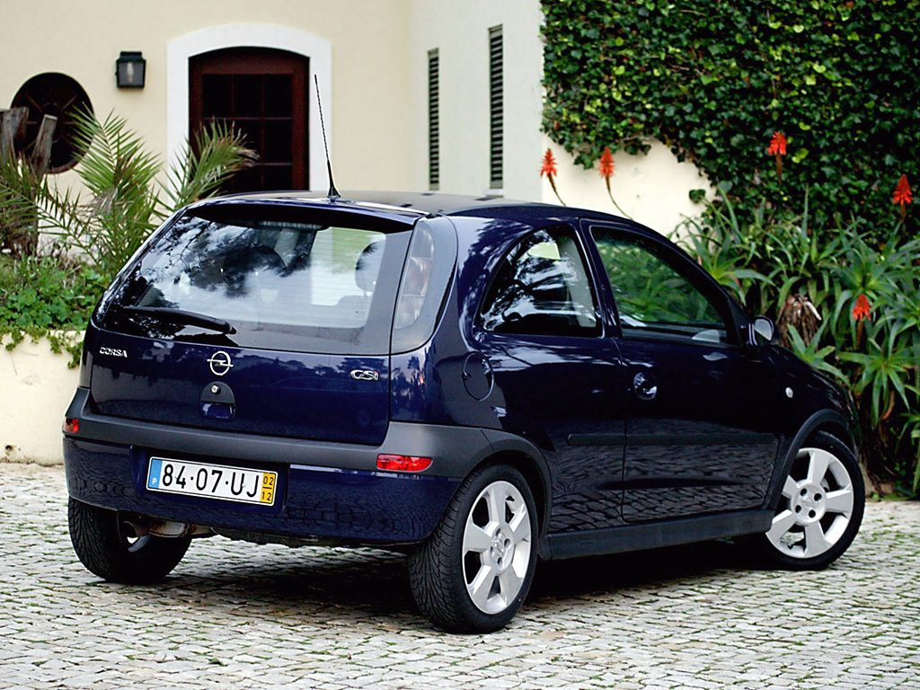 opel corsa c 1 8 gsi 3 door 2002. Black Bedroom Furniture Sets. Home Design Ideas