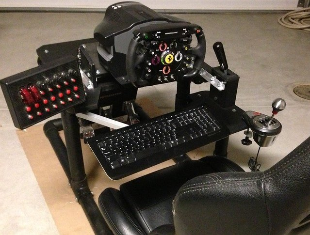 Project Simulation Diy Cockpits Plans Gt And F1 Style