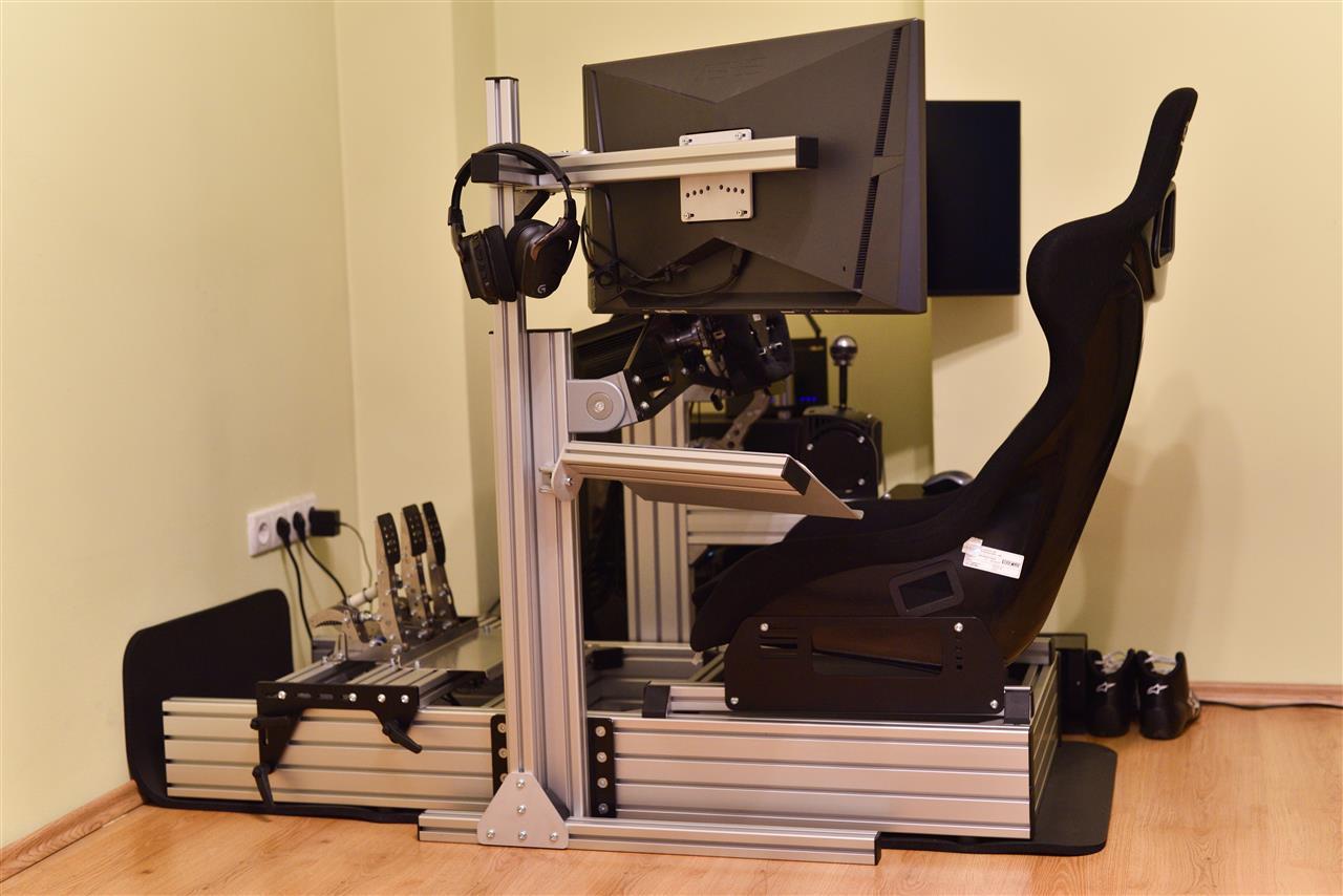 RSeat RS1 VS Sim-Lab P1