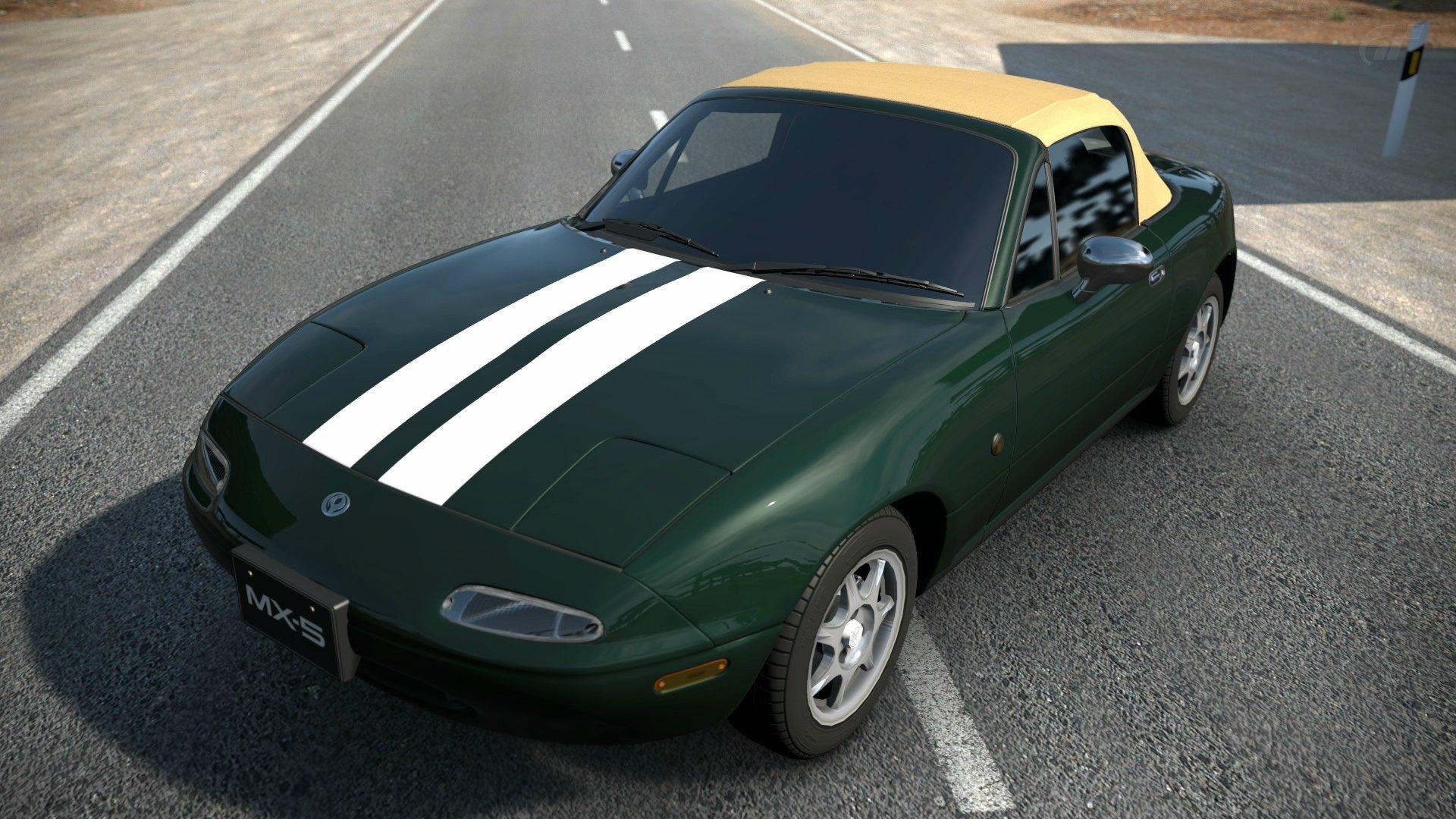 Mazda Miatas With Hidden Stripes
