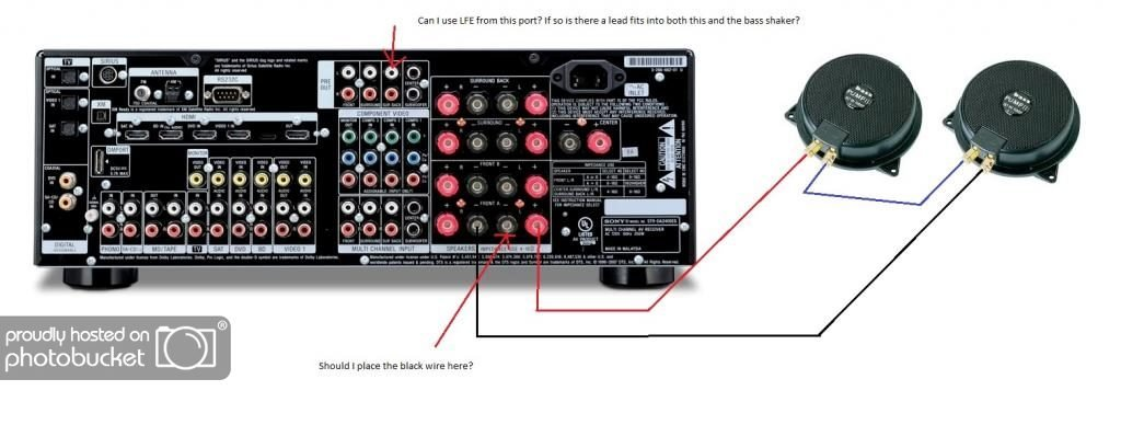 Cheap Shaker Sinus Live BassPump III Ohm - Aura bass shaker wiring diagram