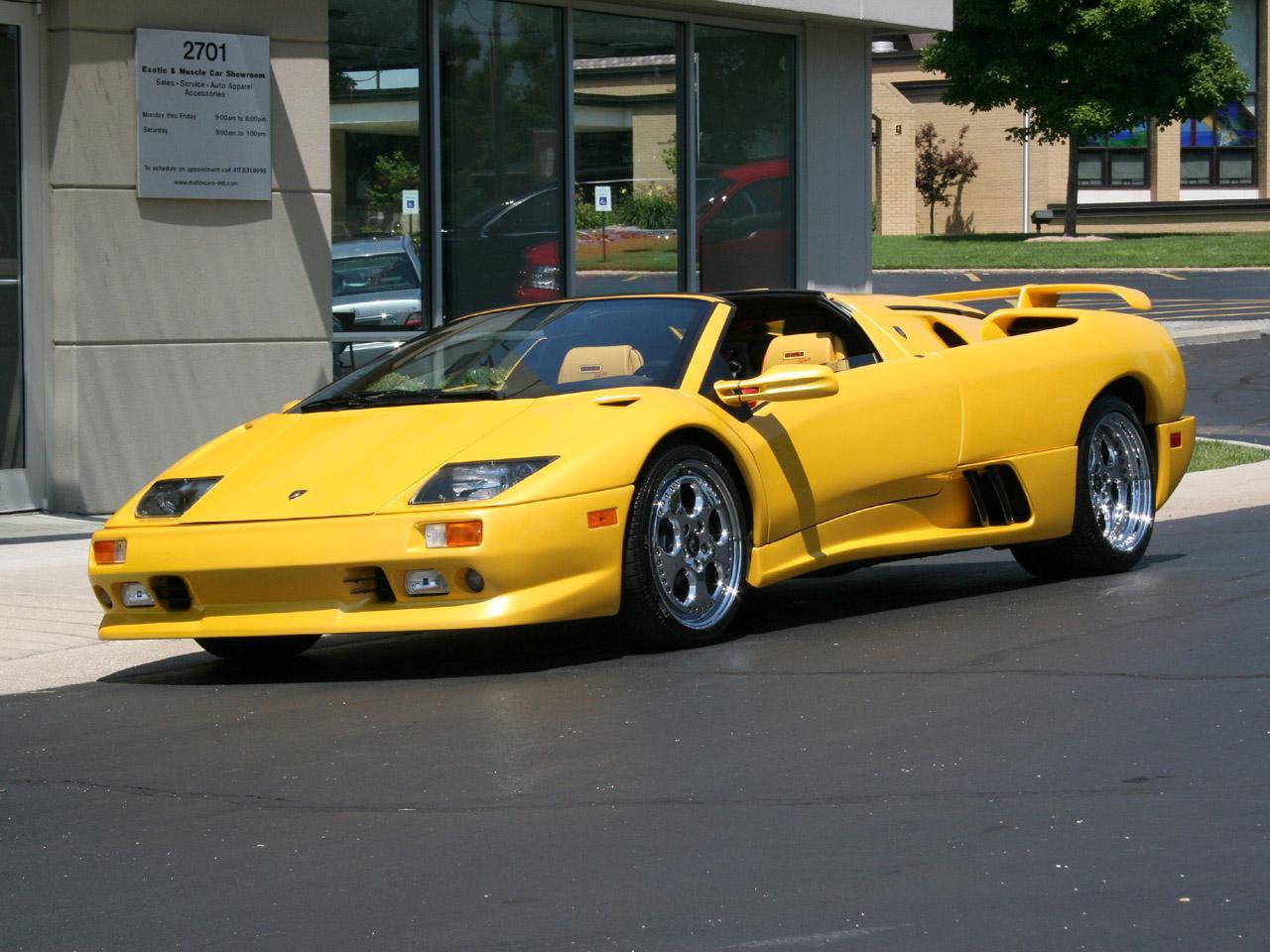 Lamborghini Diablo Vt Roadster 1999