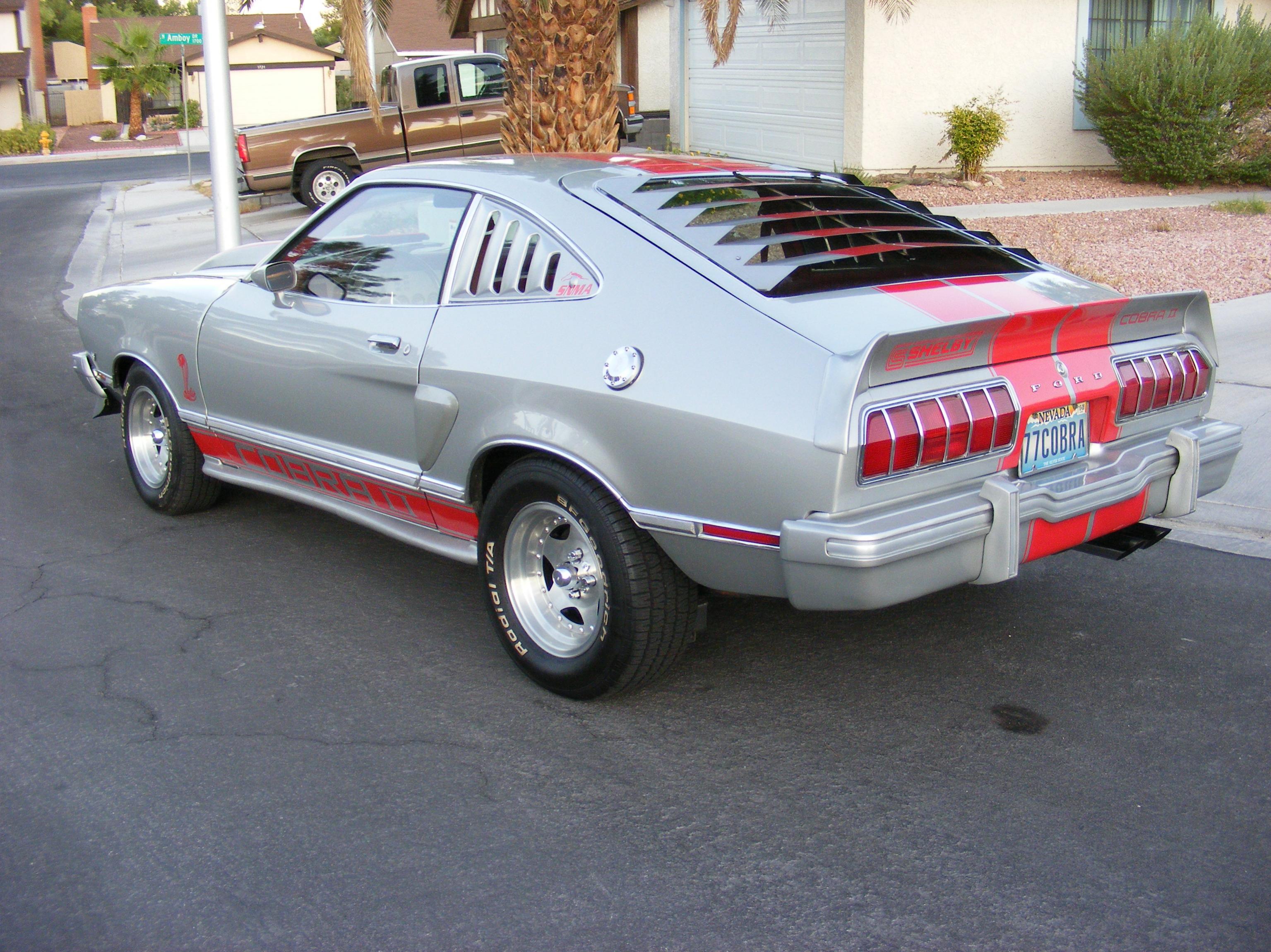 Ford mustang 2nd gen king cobra 1978