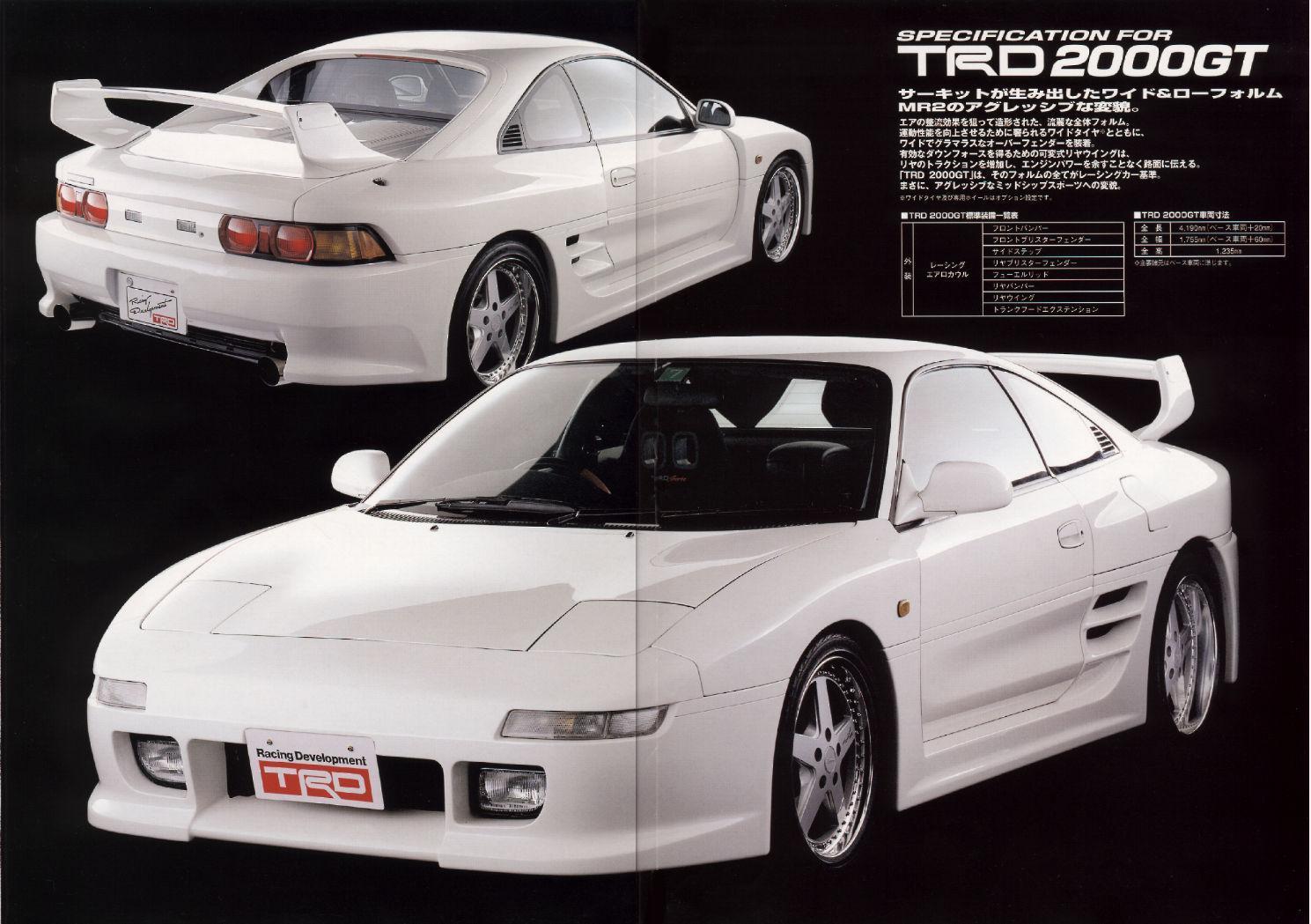 Trd 2000gt 1998