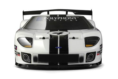 with RC car company HPI Racing to bring the Ford GT LM Spec II to life.