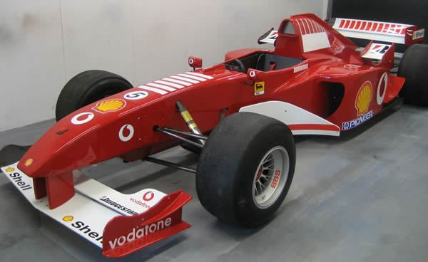 Ferrari F1 Racing Seat
