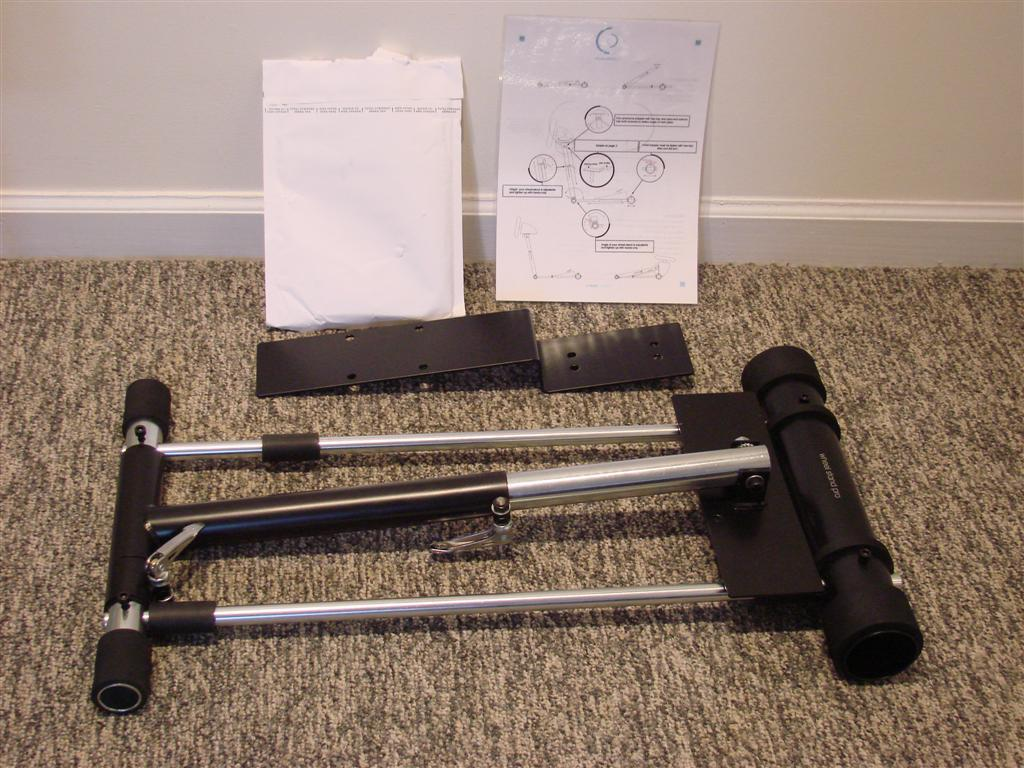 Wheel Stand Pro - Box Contents