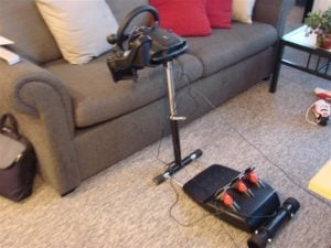 Wheel Stand Pro - Next to Couch