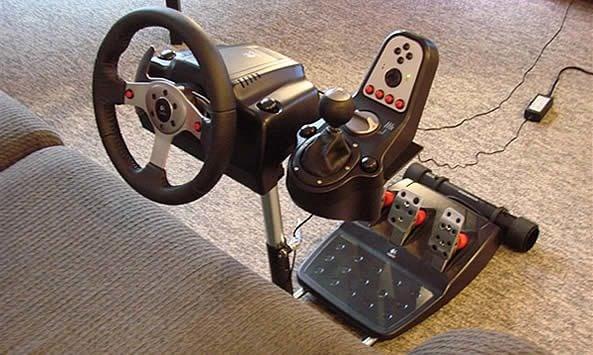 e6efa40b757 Wheel Stand Pro w/ Logitech G25, Reviewed