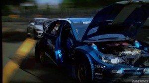 Damaged Impreza WRC