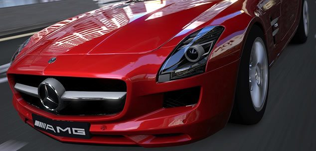 gran turismo 5 mercedes sls amg screenshot