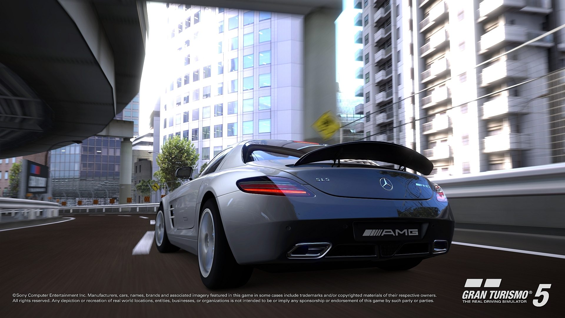 mercedes sls gran turismo 5 screenshots. Black Bedroom Furniture Sets. Home Design Ideas