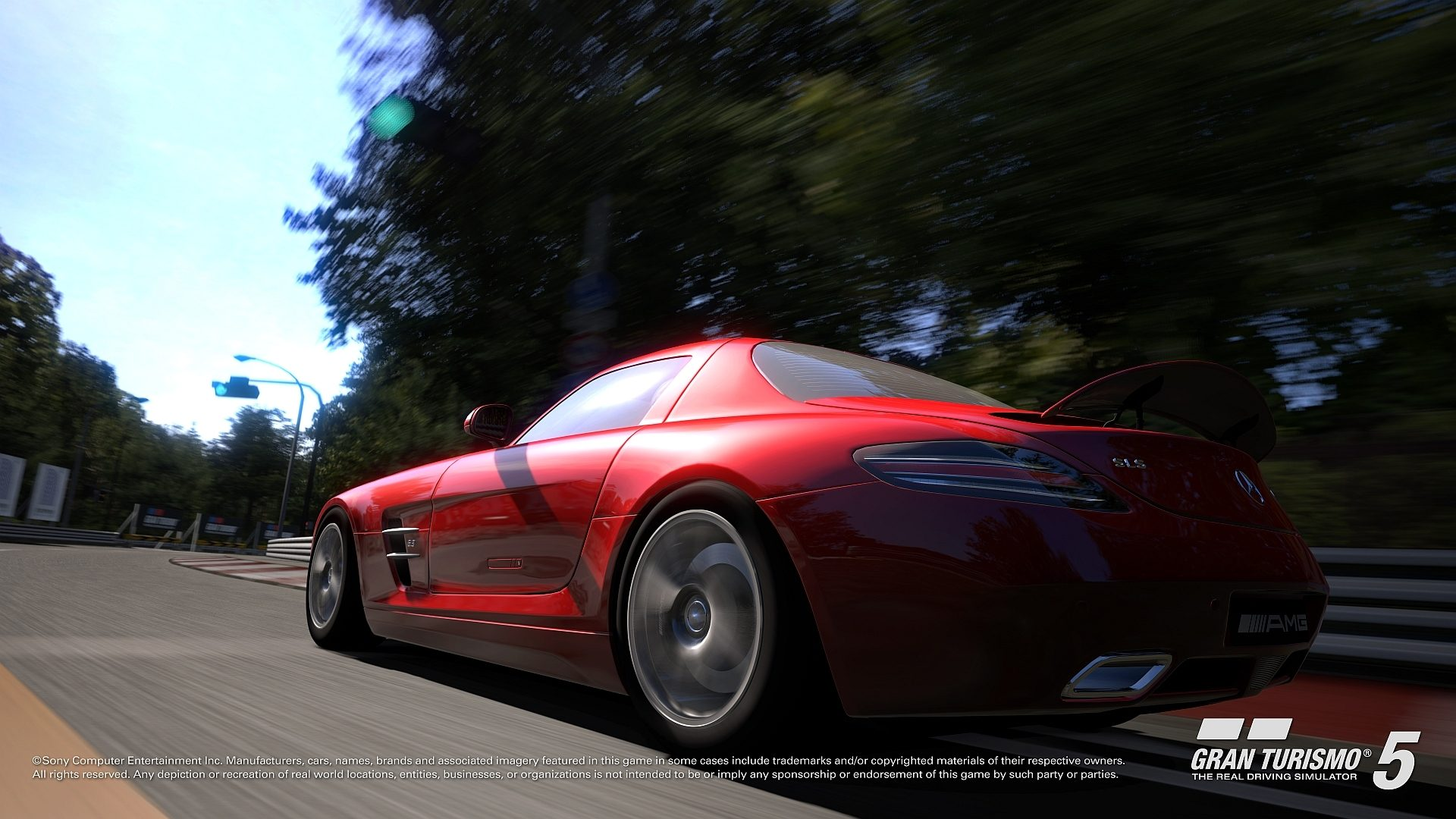 Mercedes Sls Gran Turismo 5 Screenshots
