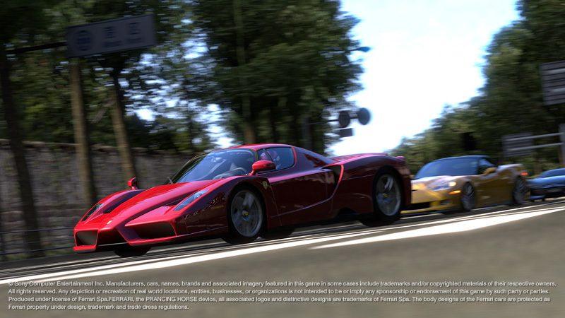 New Ferrari, Lamborghini Gran Turismo 5 Screenshots