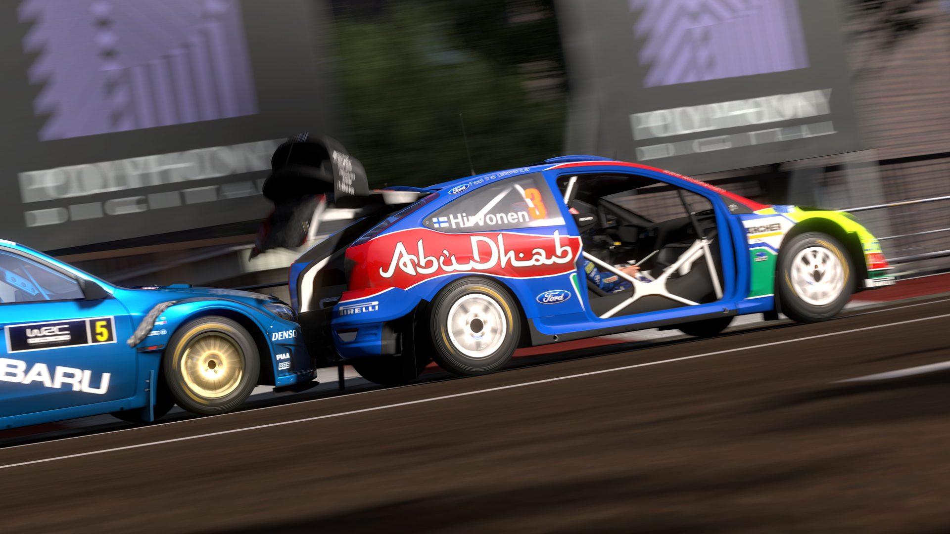 Gran Turismo 5 Screenshots Feature WRC/Race Cars