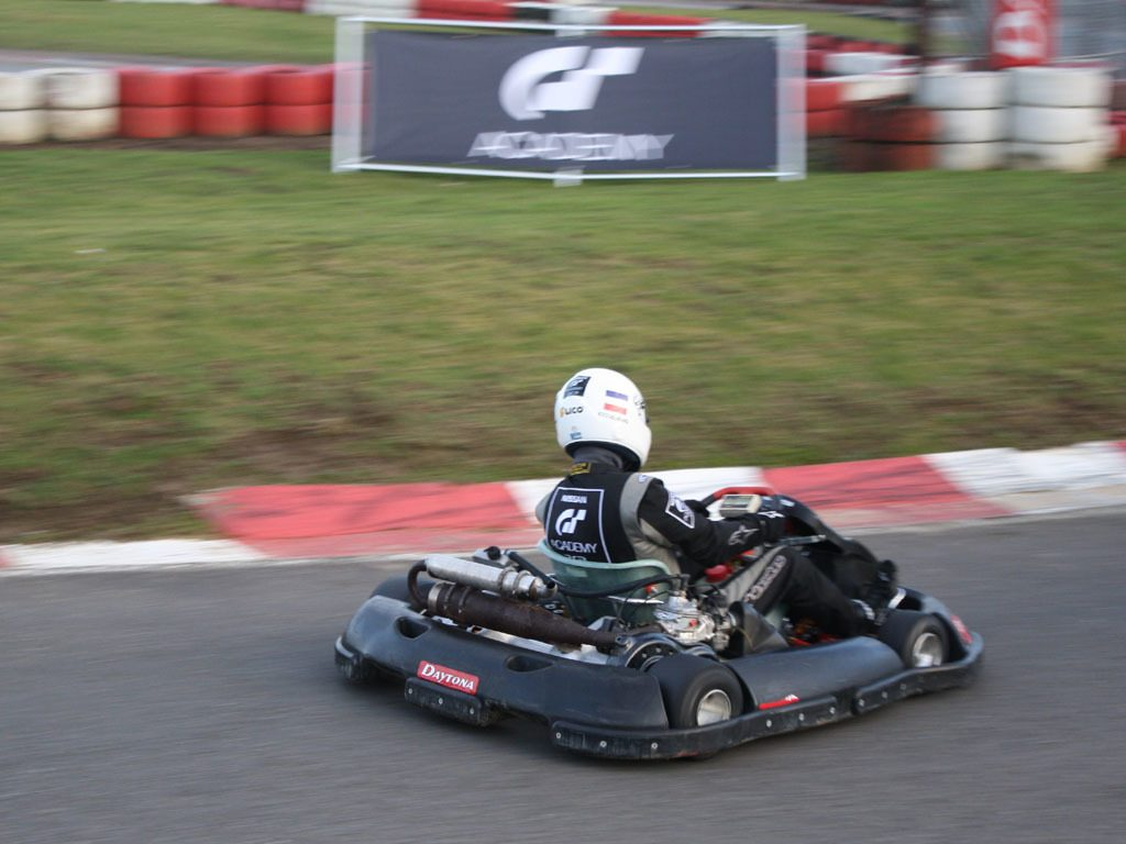 GT Academy karting