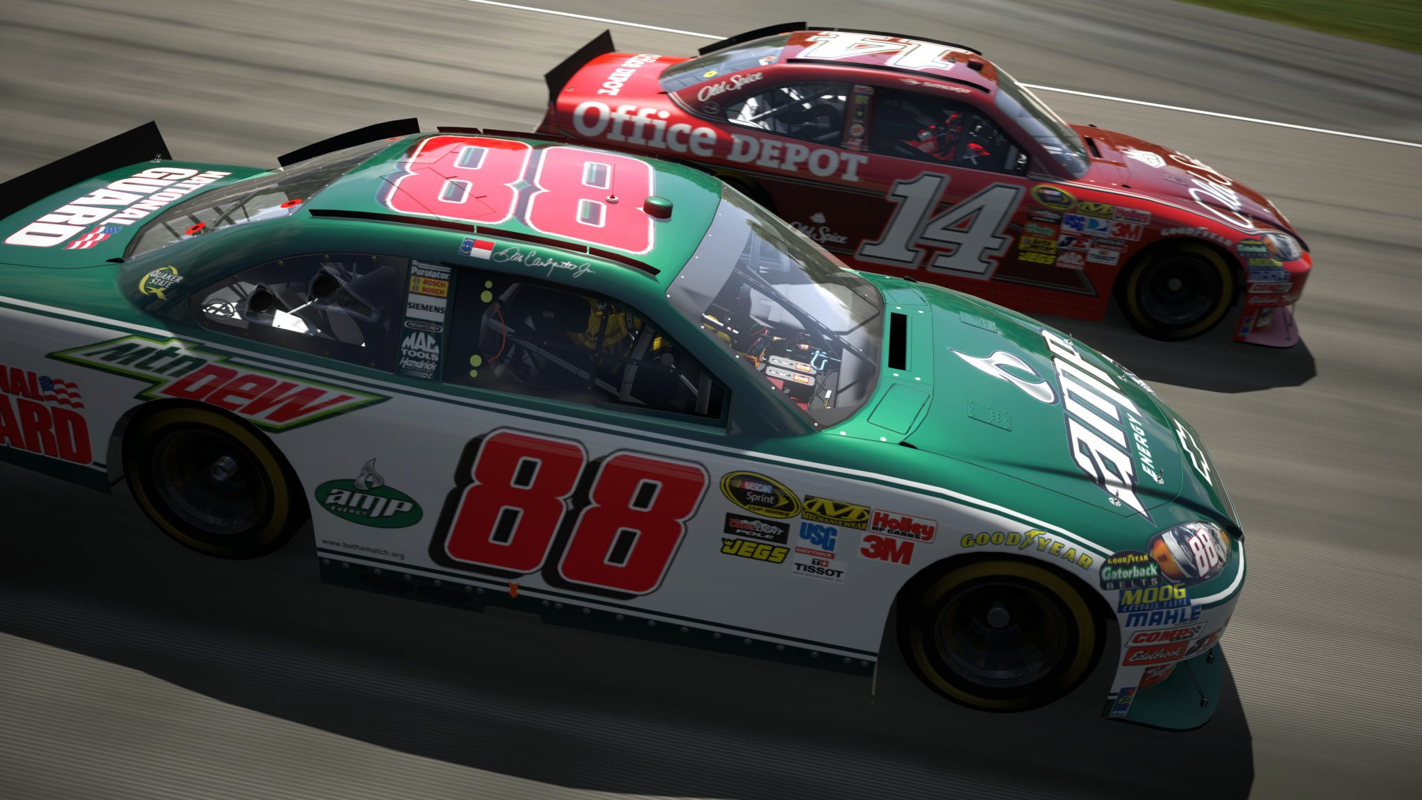 Dale Earnhardt Chevrolet >> 47 NASCAR GT5 Screenshots from E3 2010 at 18 Megapixels