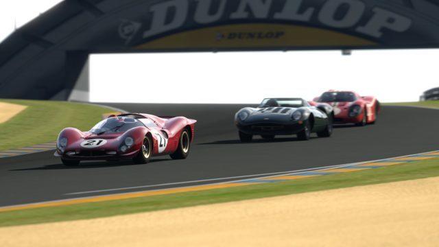CIrcuit de la Sarthe_Ferrari_330P4_B
