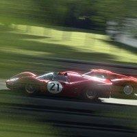 Circuit de la Sarthe _FERRARI_330P4 '67_001
