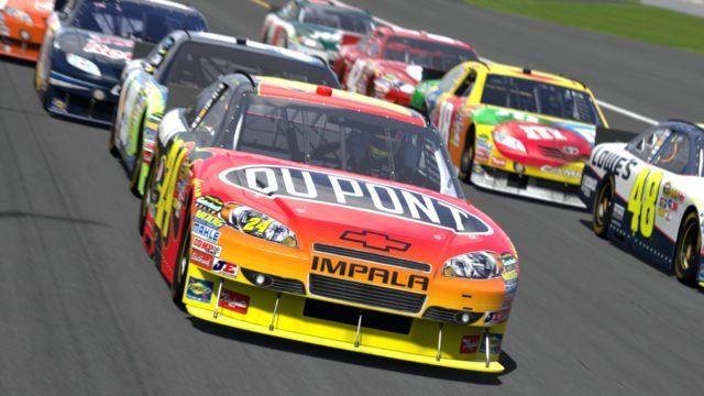 Daytona International Speedway_2010 Jeff Gordon #24 DuPont CHEVROLET IMPALA