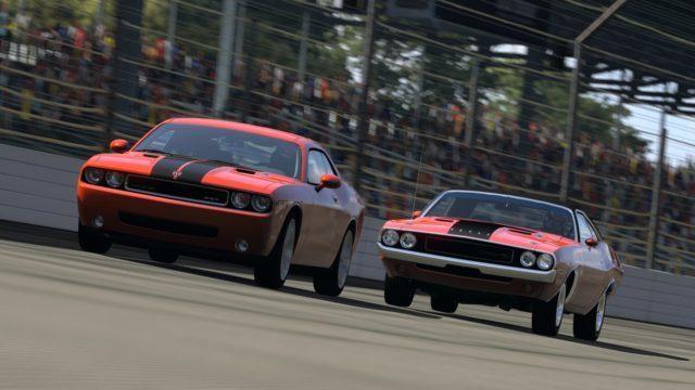 Indianapolis Motor Speedway_Dodge_Challenger SRT8