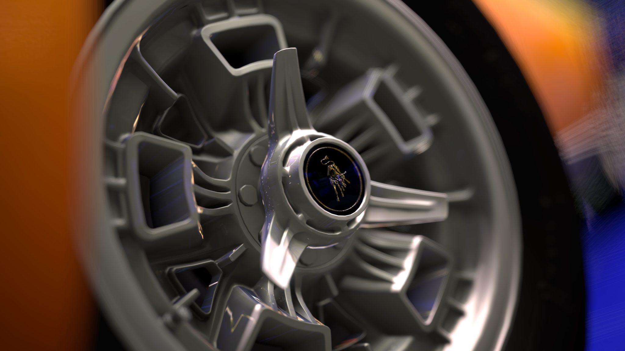 of the Lamborghini Miura