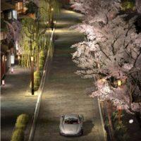 Z_kyotoShirakawaTatsumibashi_MercedesBenz300SLCoupe_005