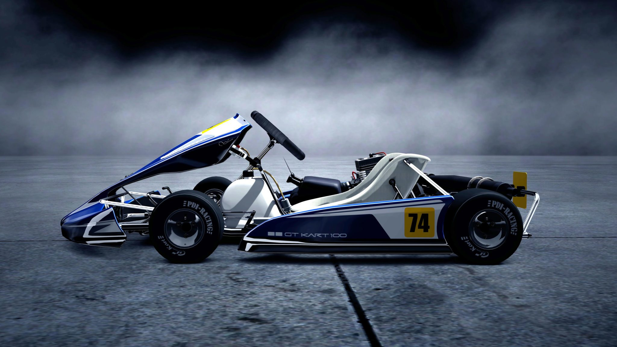 Toyota Route 4 >> Gran Turismo 5 Karting Videos, 18-Megapixel Screenshots