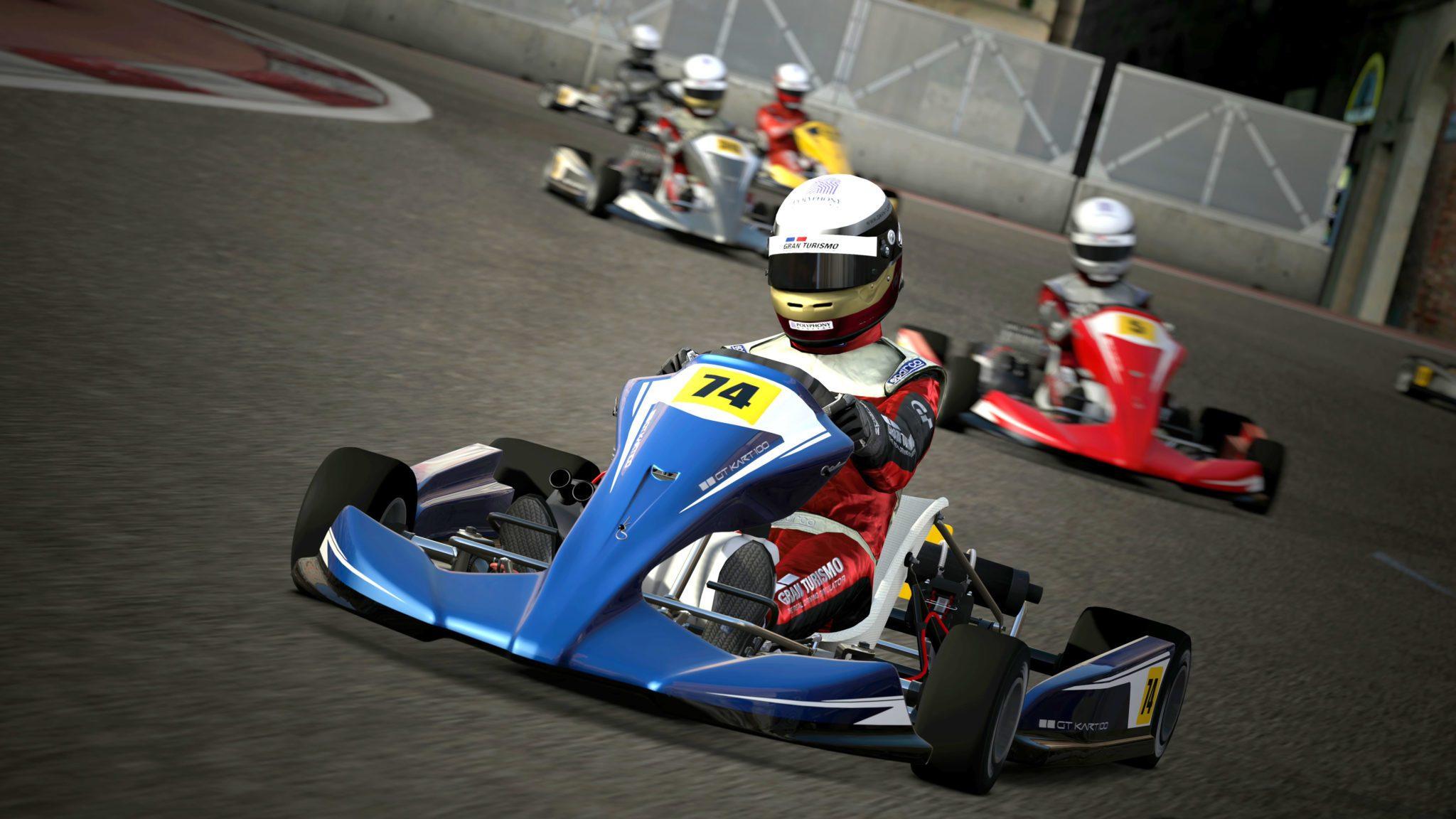 Gran Turismo 5 Karting Videos, 18-Megapixel Screenshots