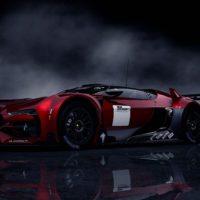 GT by Citroen Race Car FrontUp